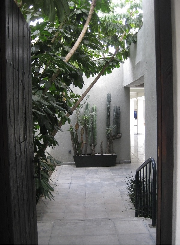 Entranceway to the house