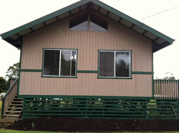 Brand new  Hale Pa'ani near Kea'au!
