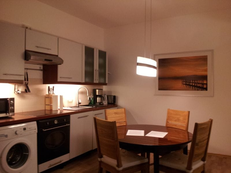 Quiet flat close to central station