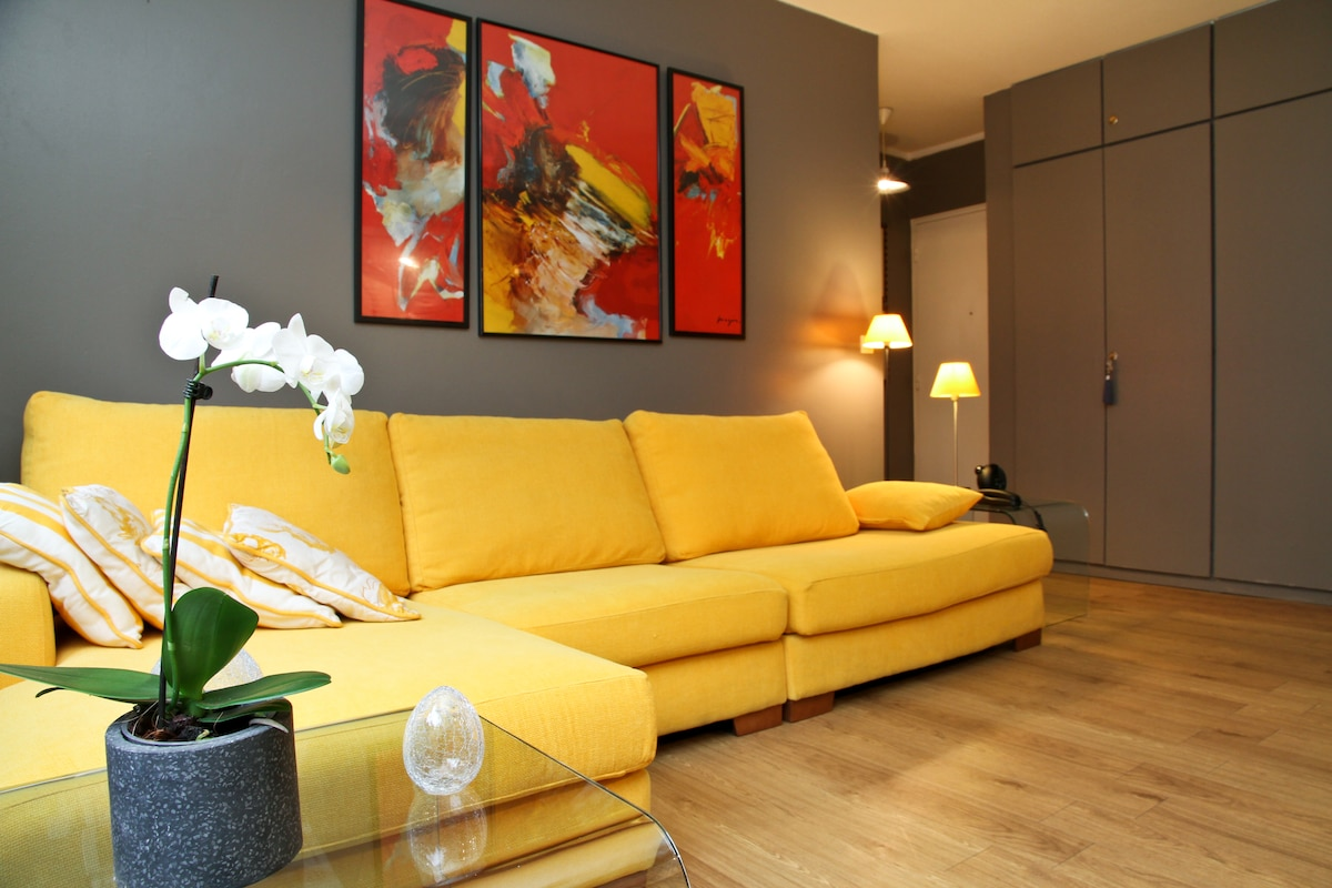 "Quiet, nice apt in ""Le Marais"""