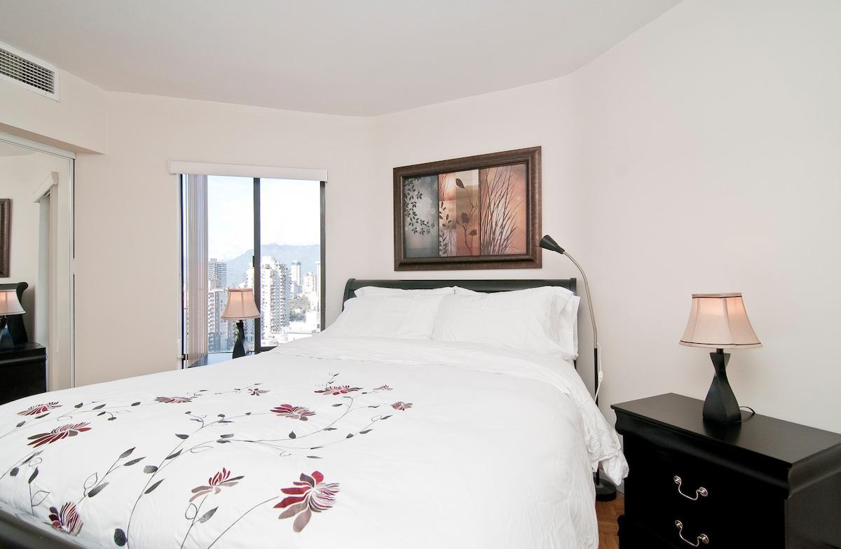luxury mattress and sheets