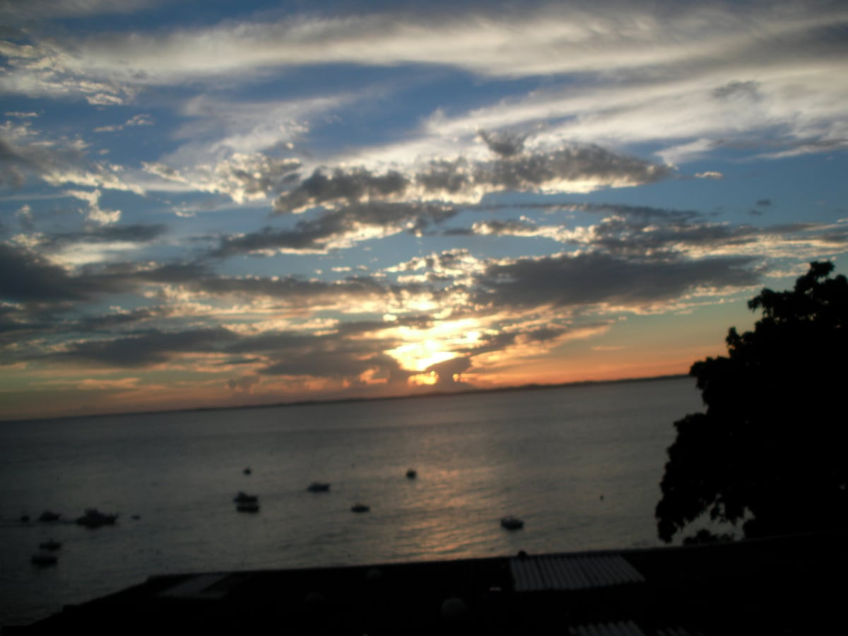 the private sunset, view from the veranda! we share it!
