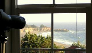 Ocean views in charming art village