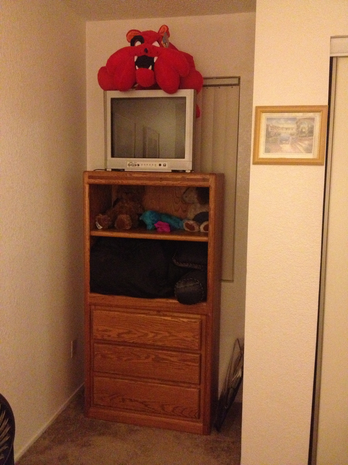 Dresser-will be cleaned out at arrival