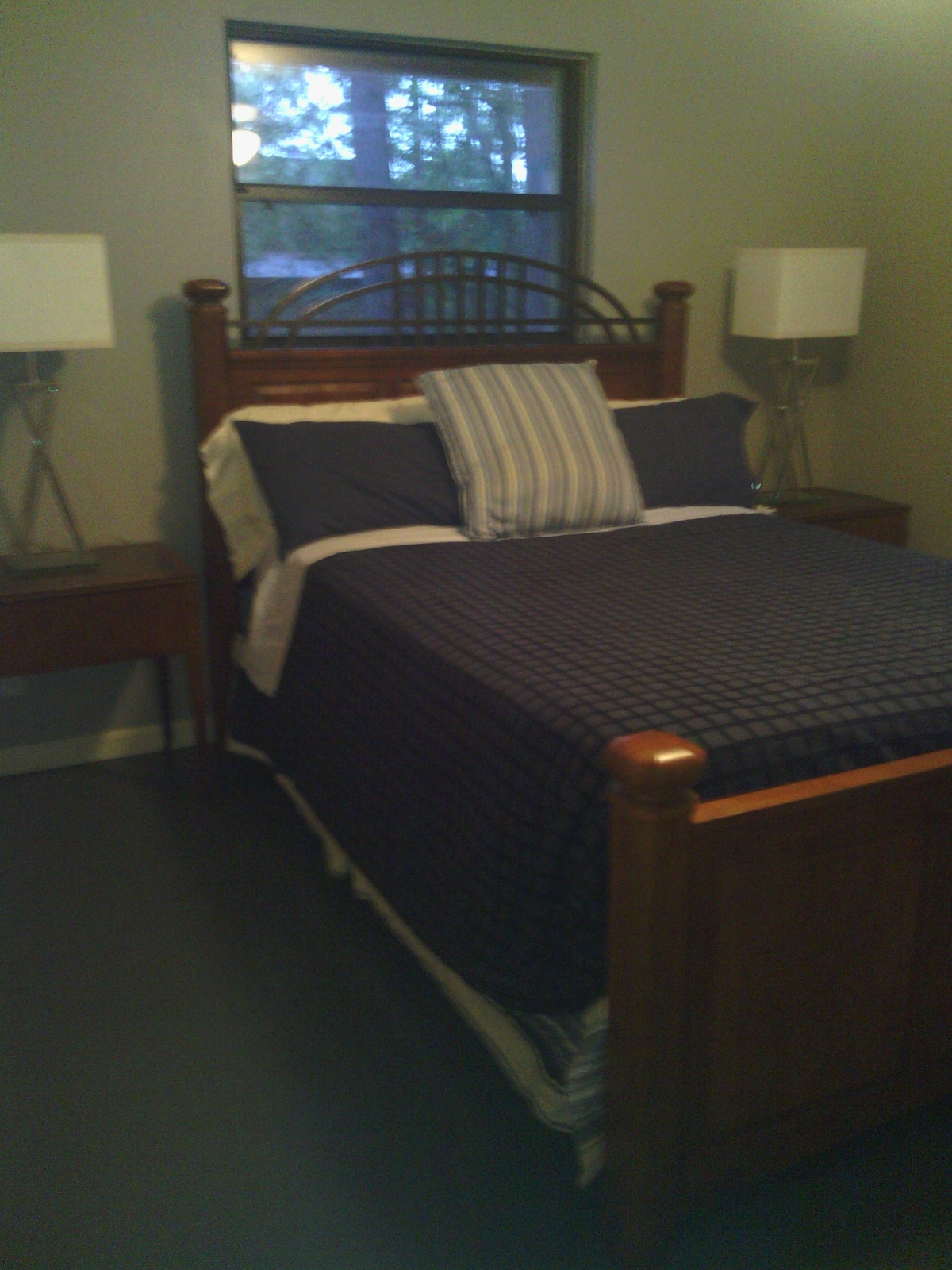 Guest room - this is the room you're renting on Airbnb- private