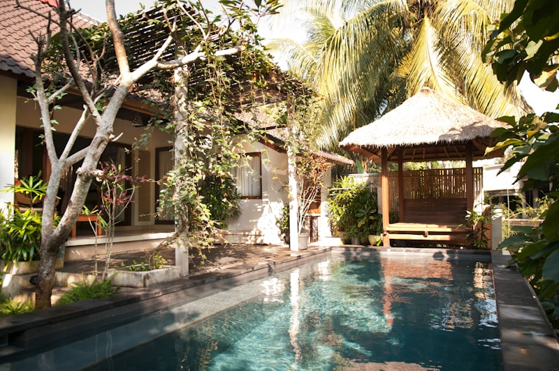 Private Villa Nyoman with pool