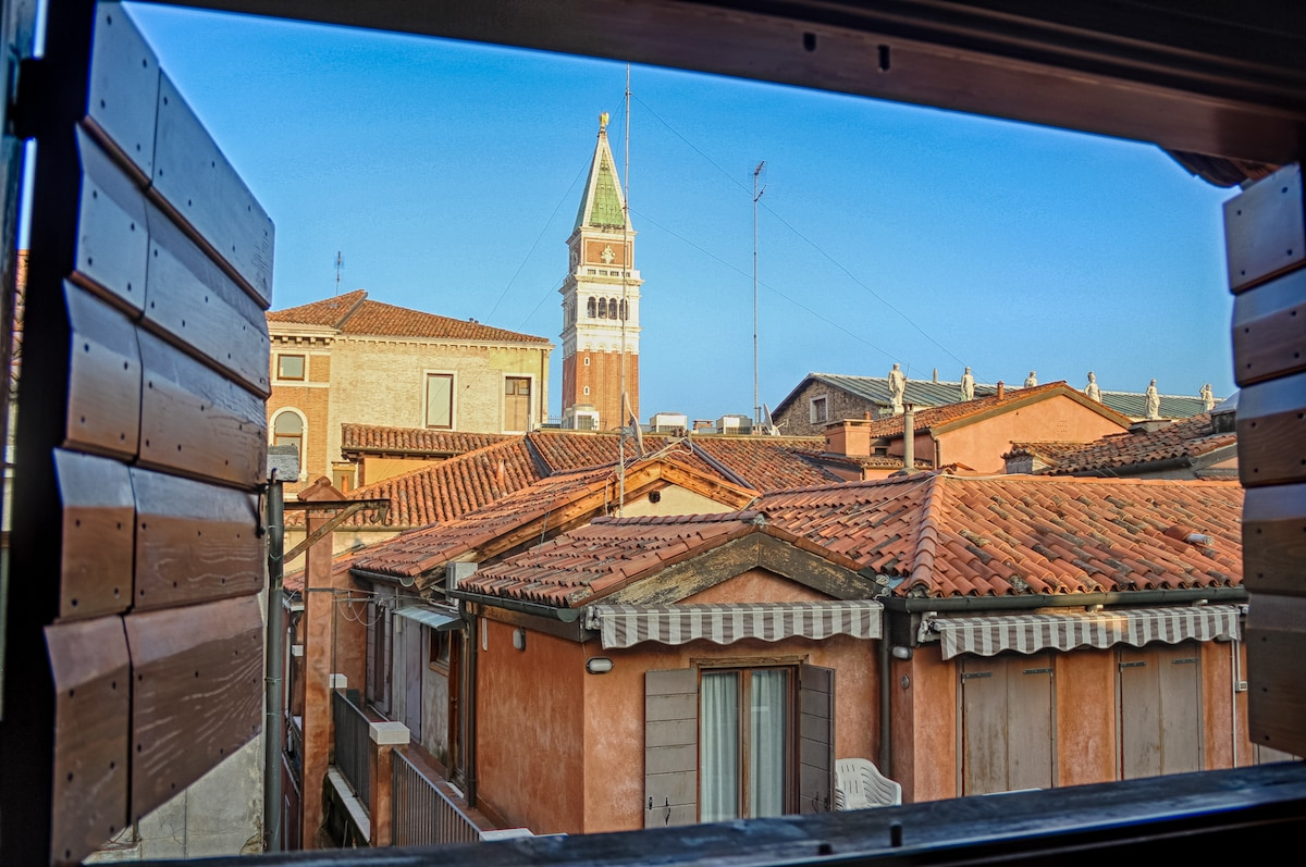 View from Window - Only 50 meters from San Marco Square.