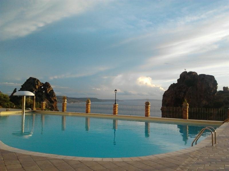 Apartment/blue/ S, W /Sardinia/pool