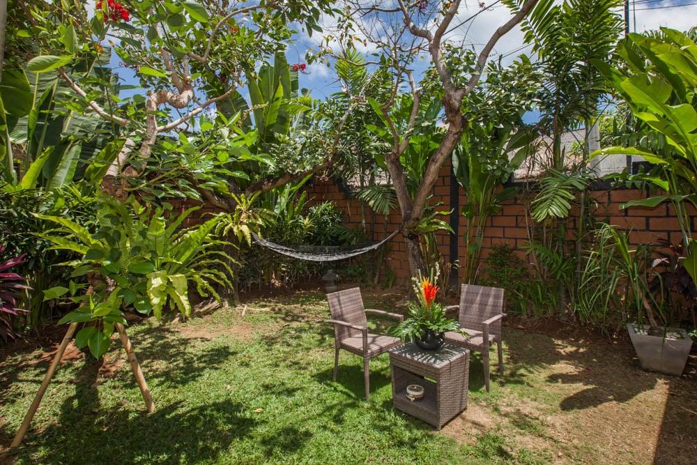 luxury room C private garden with hammock