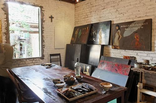 Workshop painting