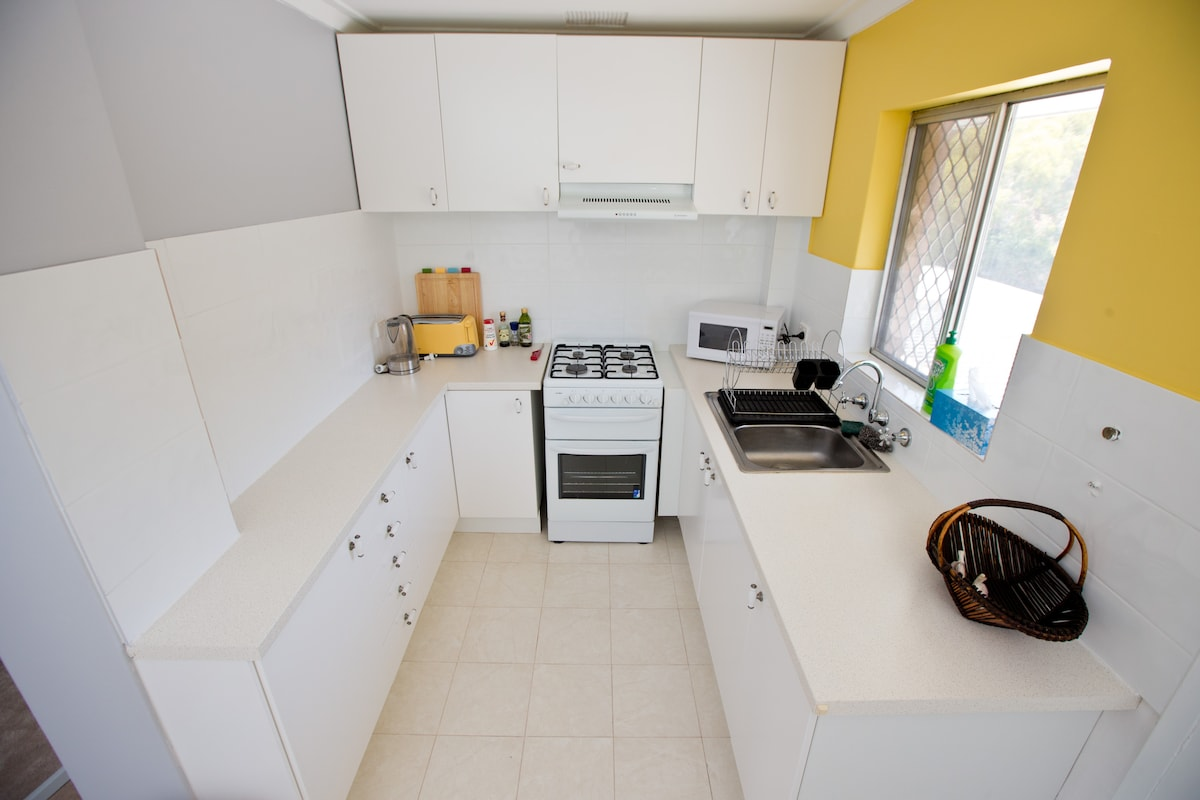 Fully contained kitchen.  Recently renovated.
