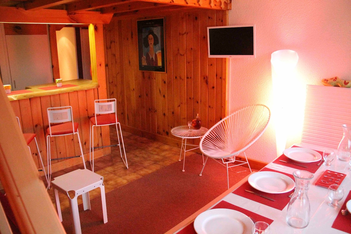 Superb 8 pers. apartment in Flaine