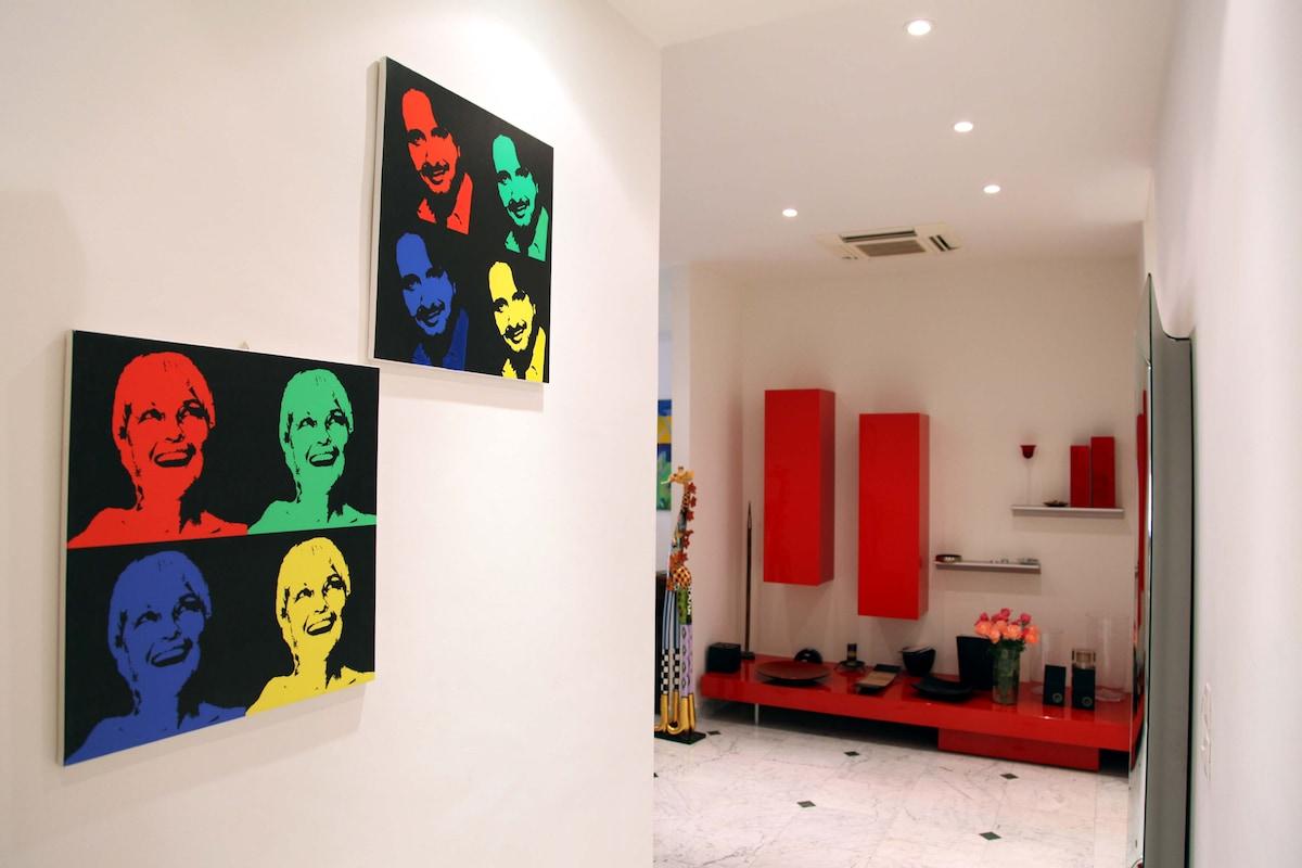 Elegant apartment in central Nice