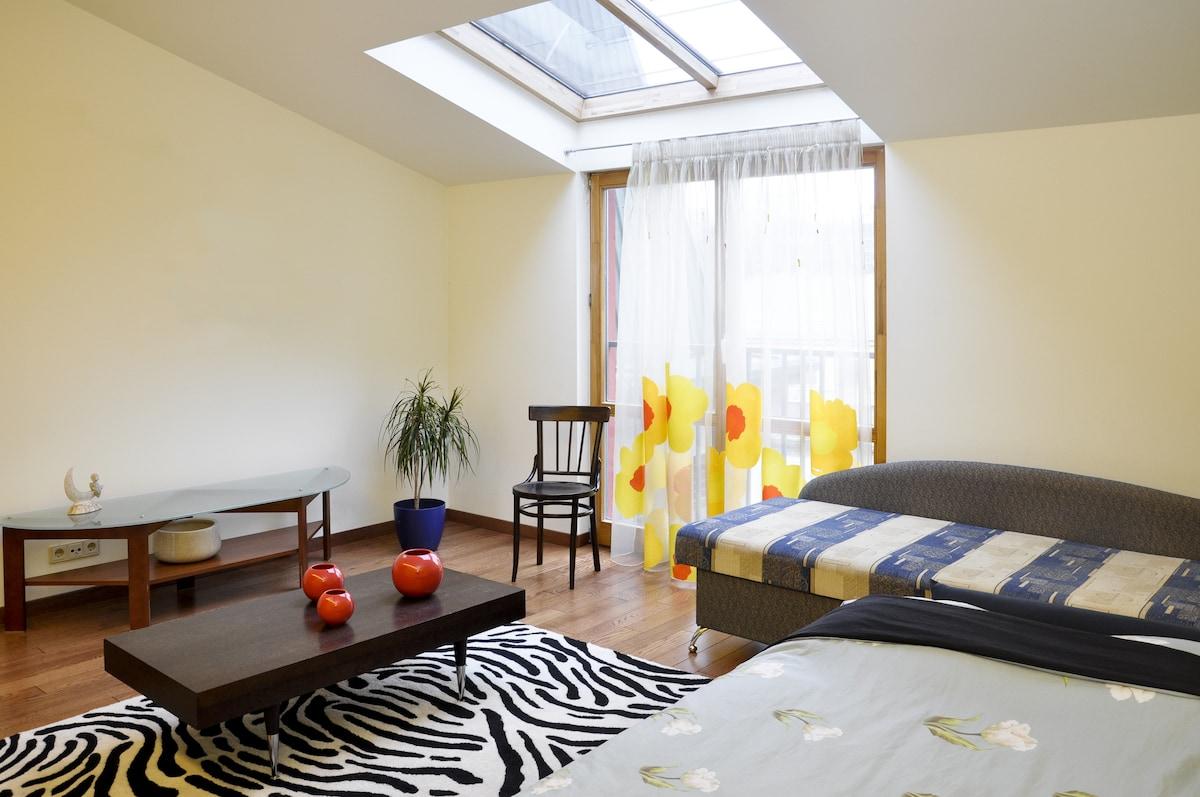 Guest room - full of light