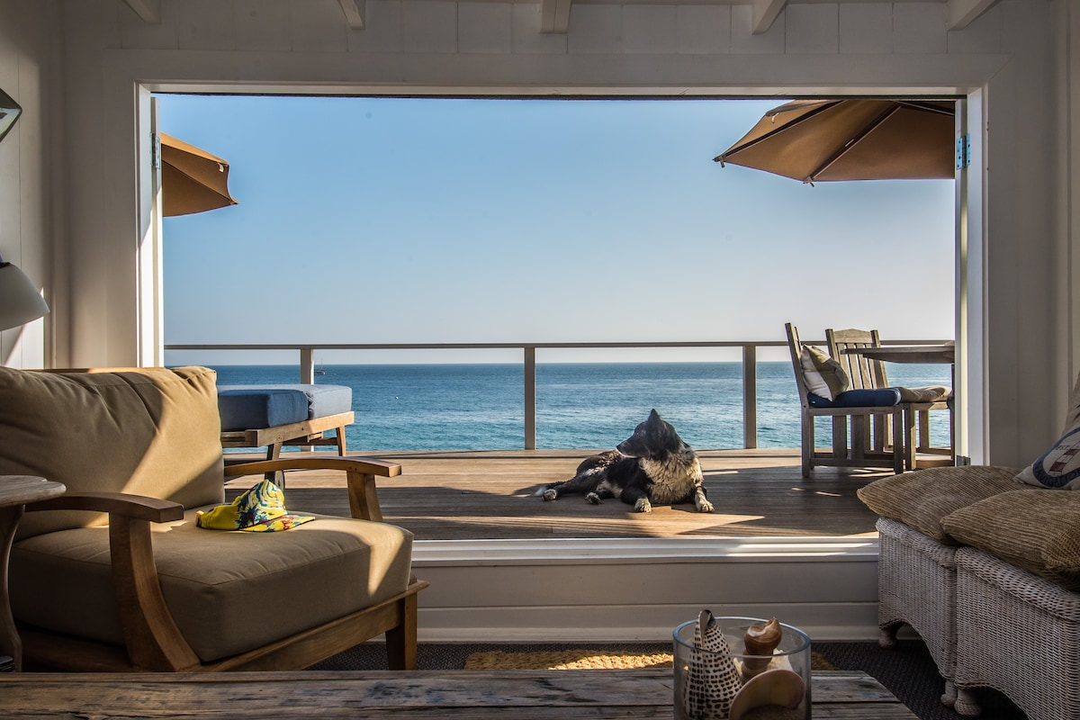 Malibu Ocean Front- Private beach
