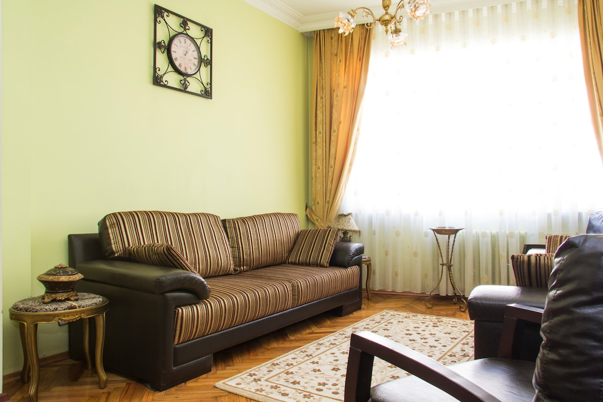 fully furnished house in Şişli
