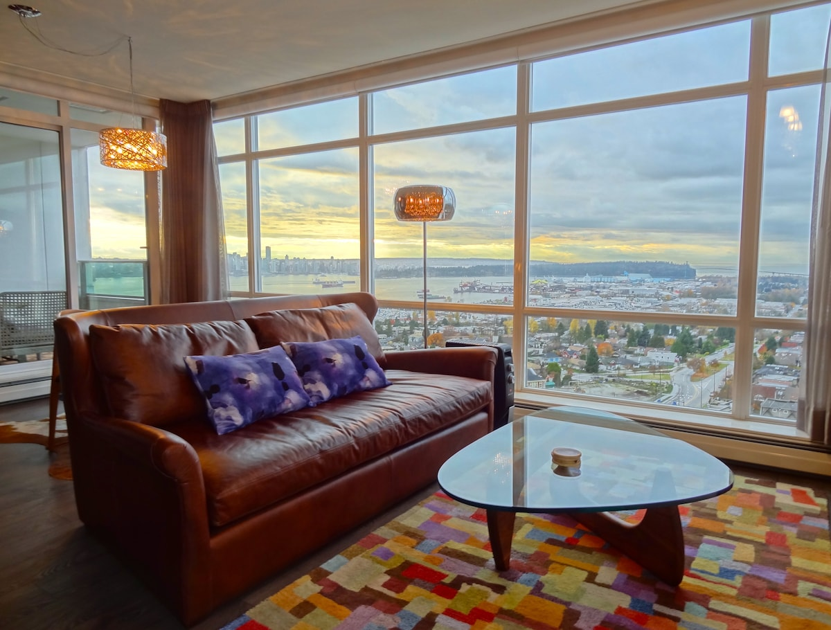 Lux Private Room with Amazing Views