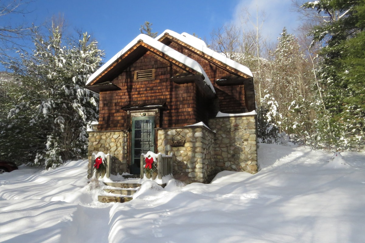 The wonderful Johnson Family provided us with this photo of the Icehouse on Christmas morning 2012!