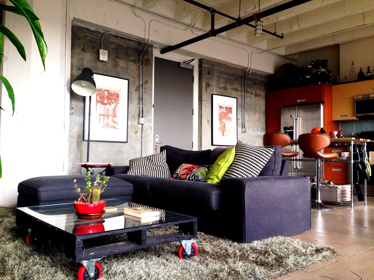 BEST Downtown Loft starting at $149