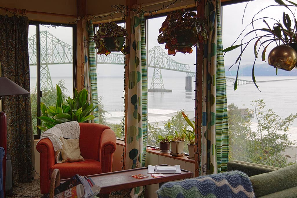 Studio with panoramic view