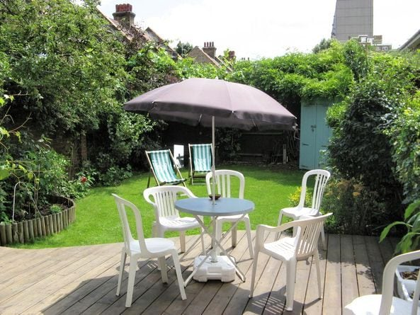 The garden in summer - I also have a BBQ you can use
