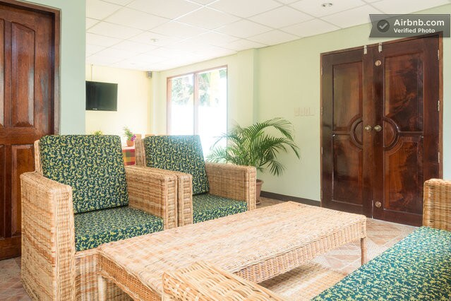 Reception, Lobby and Restaurant for breakfast, lunch, dinner, common TV and entertainment room.