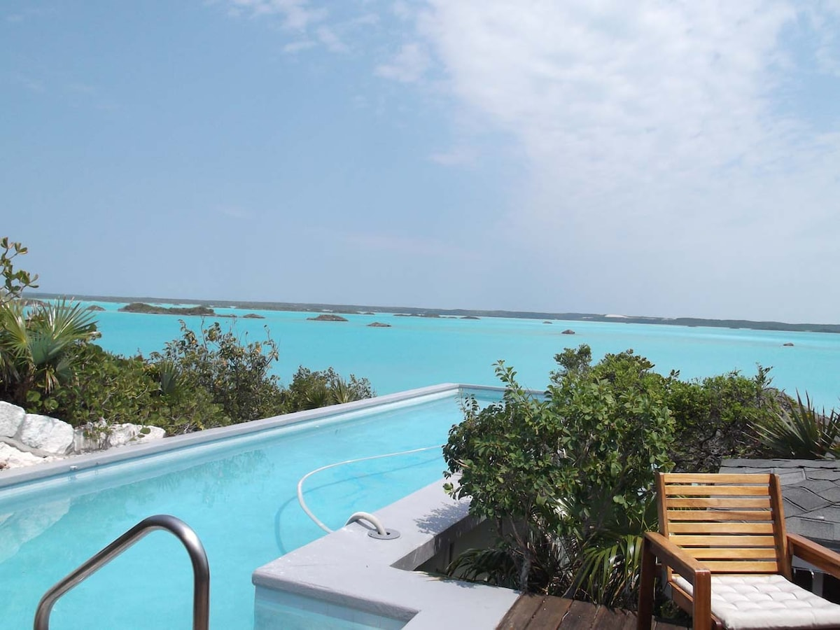 Chalk Sound Villa, Incredible Views