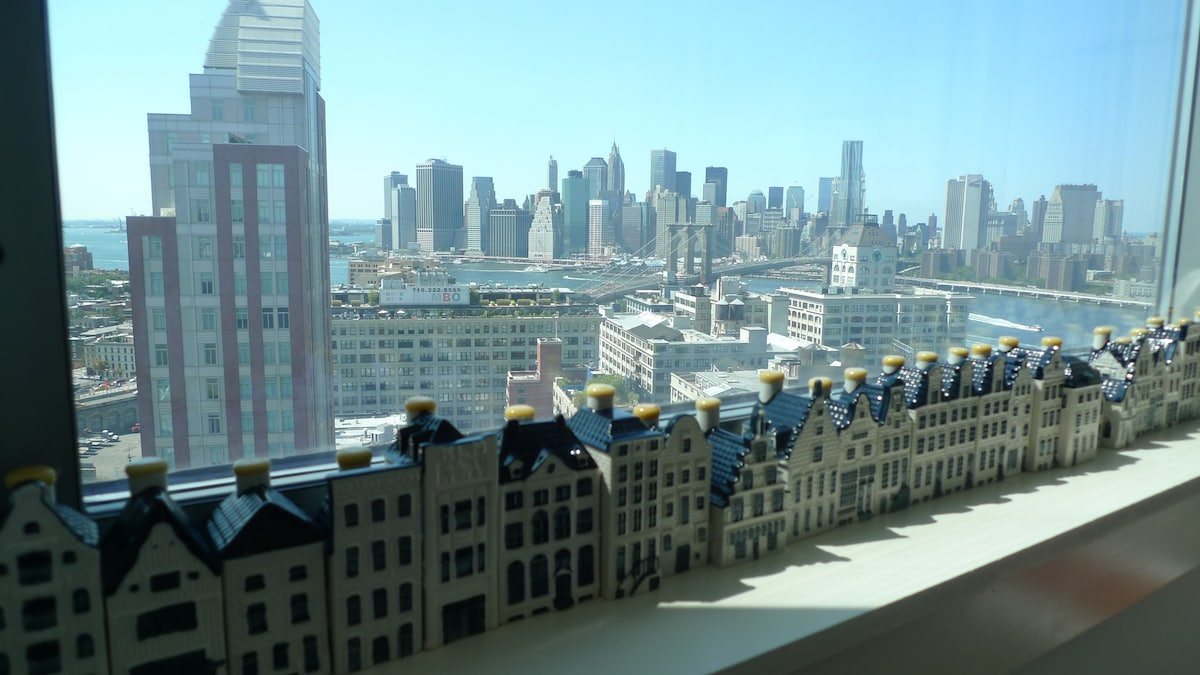 View of Manhattan from Living Room