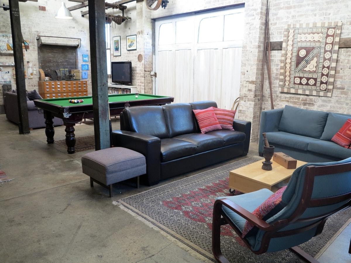 Rustic 3BD Warehouse Conversion