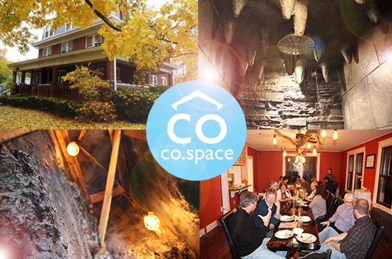 A glimpse into the co-space - a home unlike any other