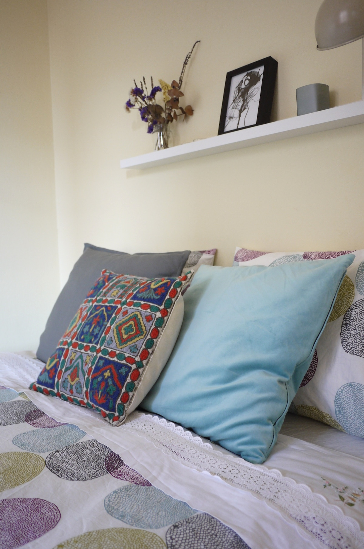 Lots of different pillows to choose the most confortable for you!