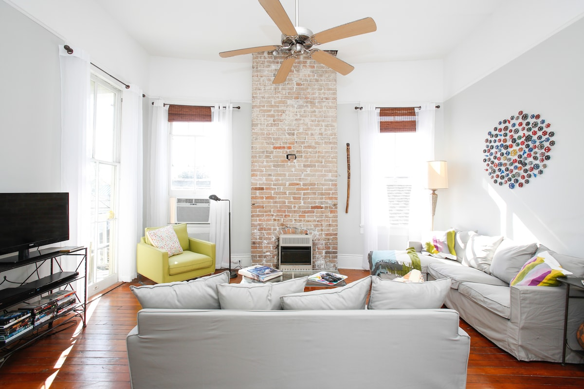 Private Airy Marigny / Bywater gem!