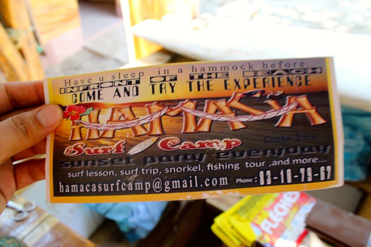 Hamaca Surf Camp backpackers hostal