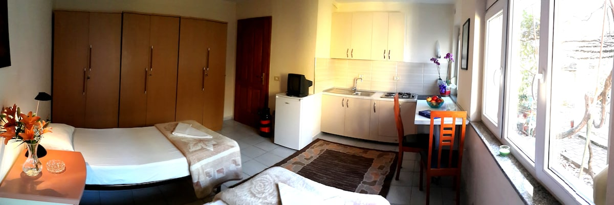 Panoramic view of the room