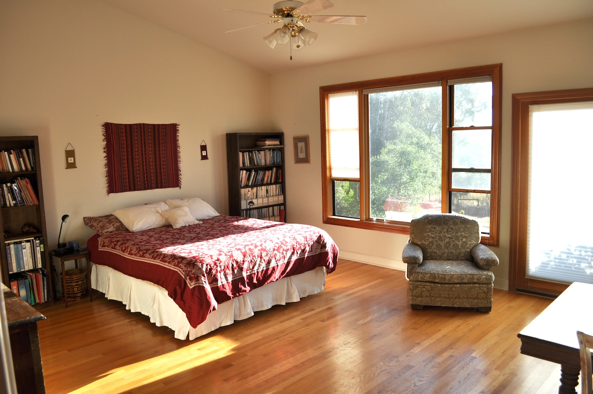Here's the room...spacious, bright, relaxing