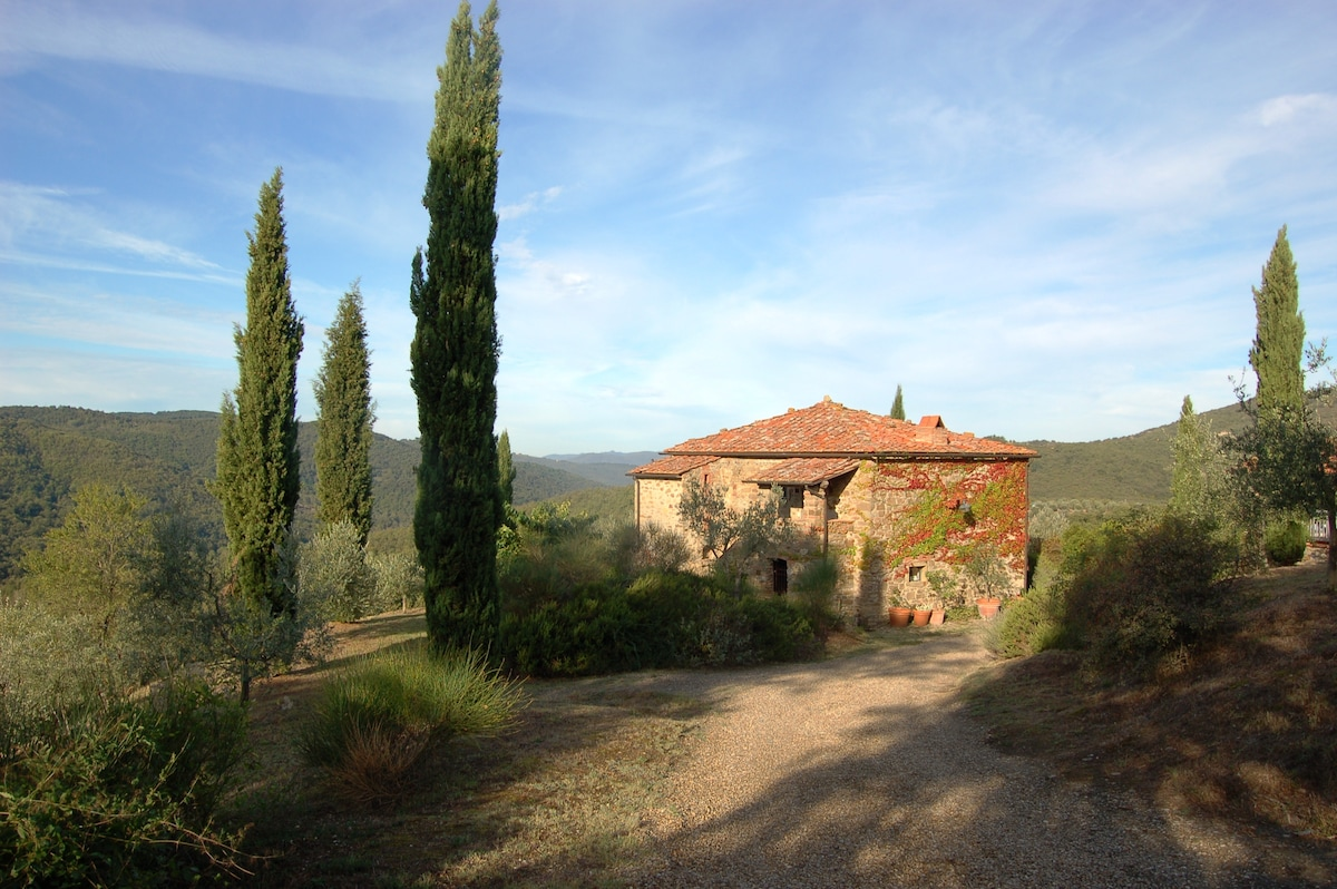 House with pool in Tuscany