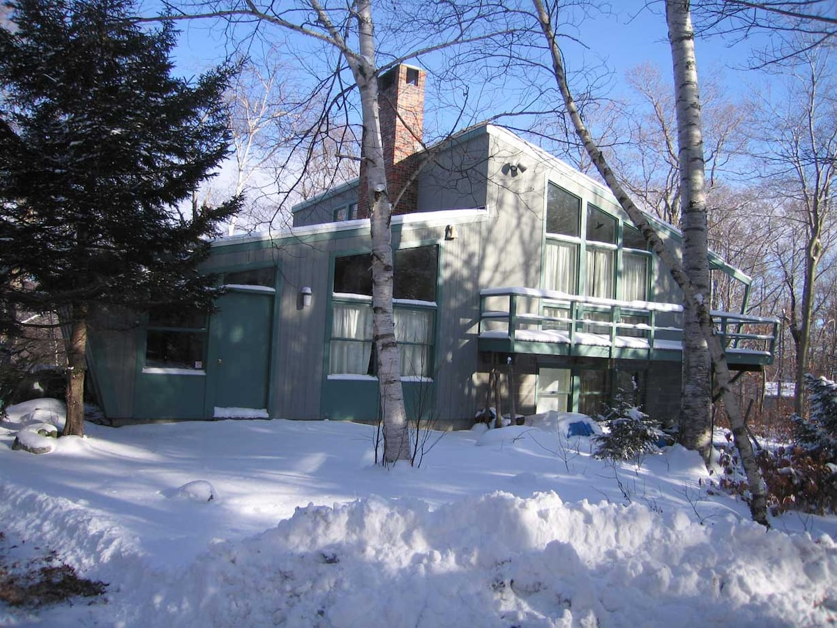 Modern Design Mad River Ski House