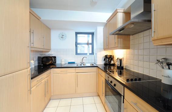 Fully Furnished and Stocked Kitchen