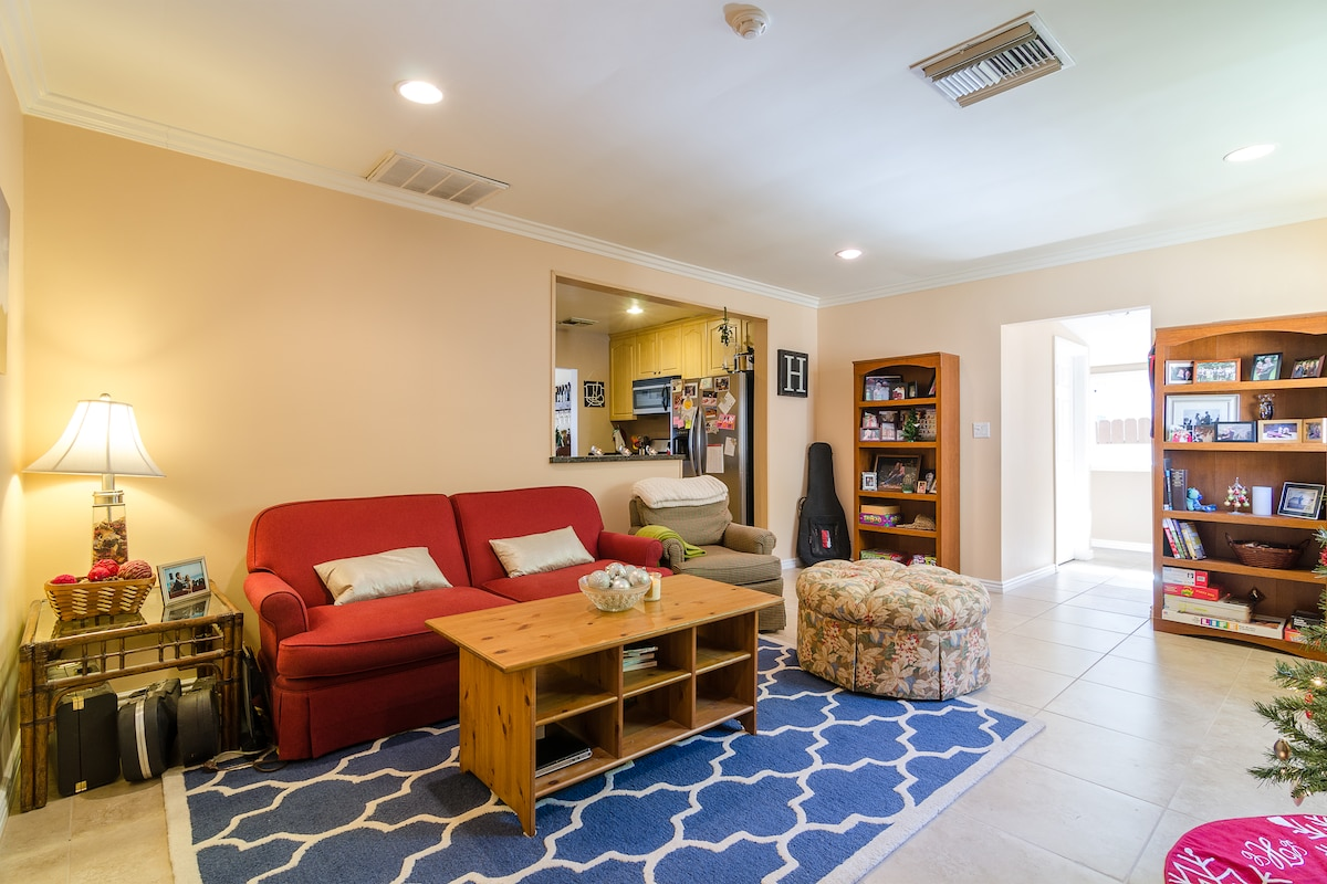 Living room is a shared area