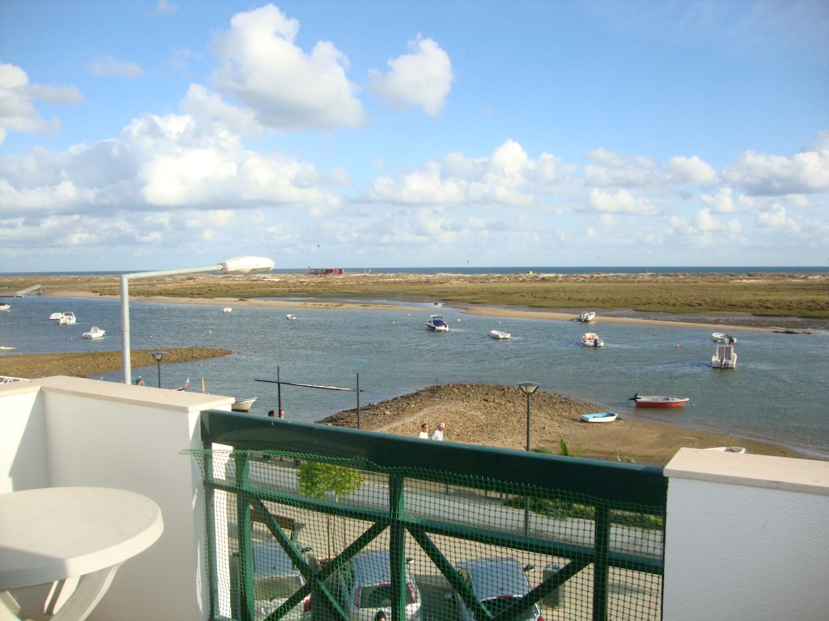 View from the balcony (Cabana's Island - Ria Formosa)