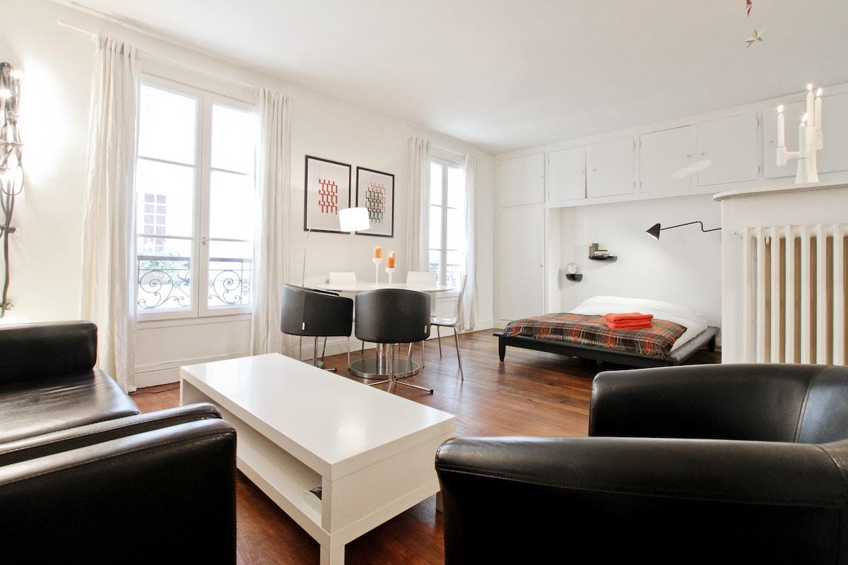 Bel appartement sur ile saint louis