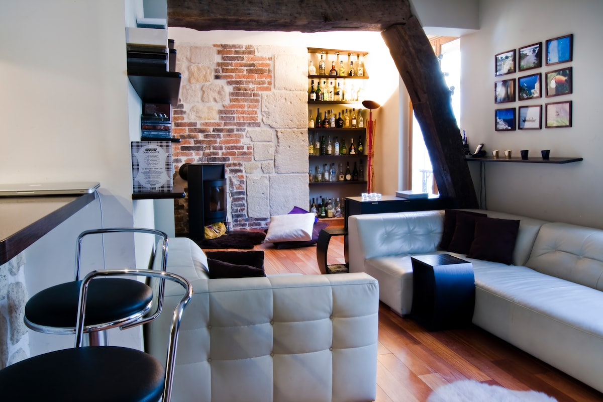 Design 2bedroom 2bth WIFI in Marais