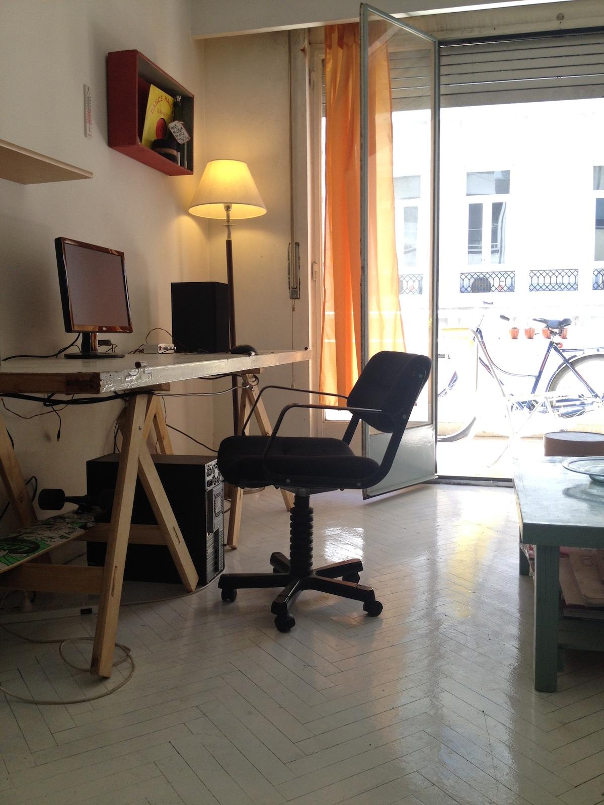 Huge Studio 43mt Downtown IT