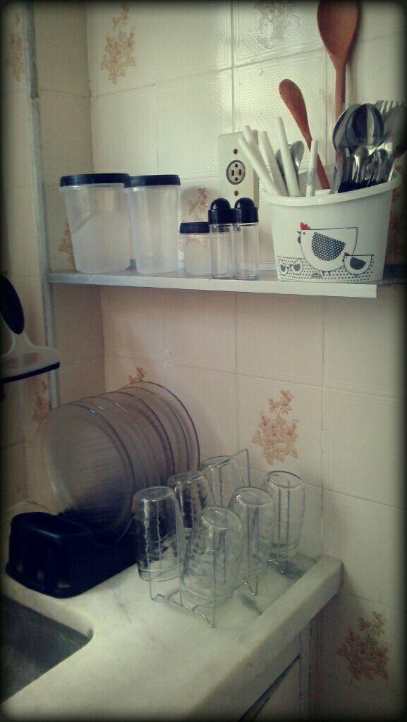 Utensílios de cozinha.