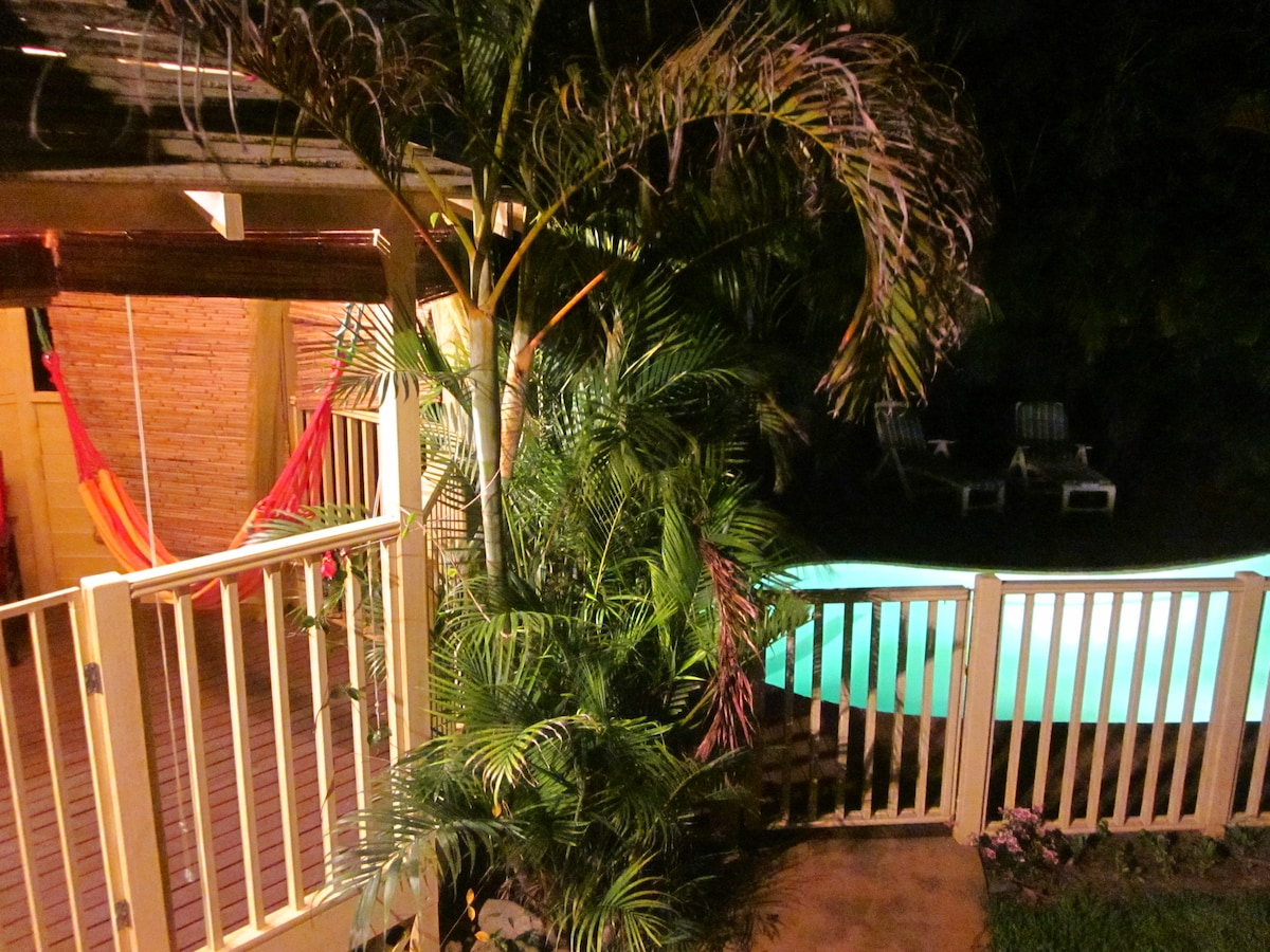 Your relaxing private deck!