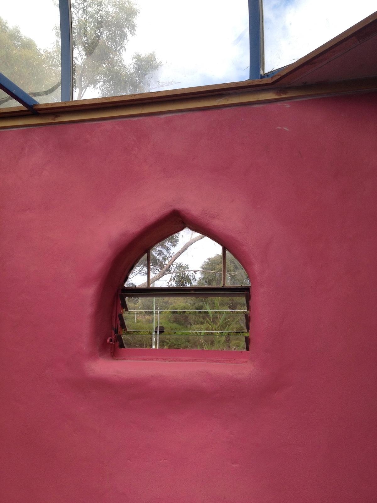 Single Goth window.
