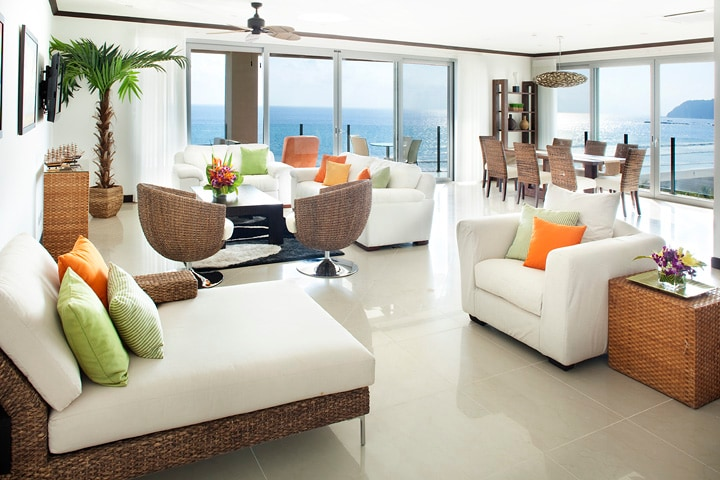 Luxurious Ocean Front Penthouse