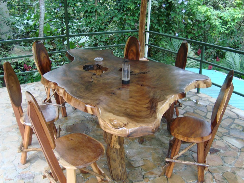 Table under the Rancho