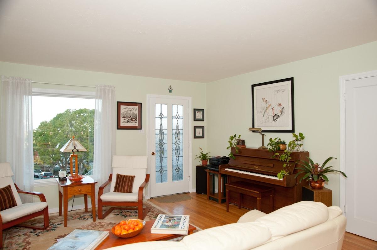 Homey common space