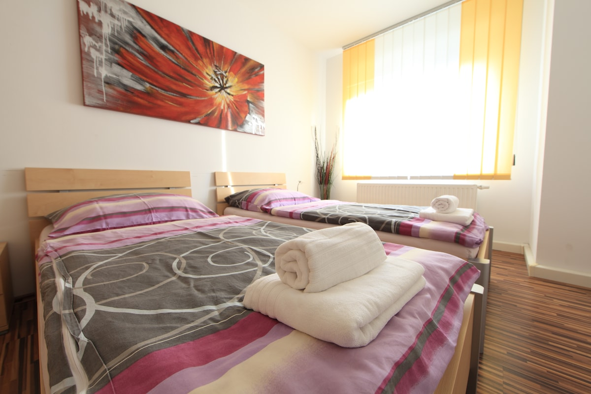 Linz: PANORAMA central + luxurious